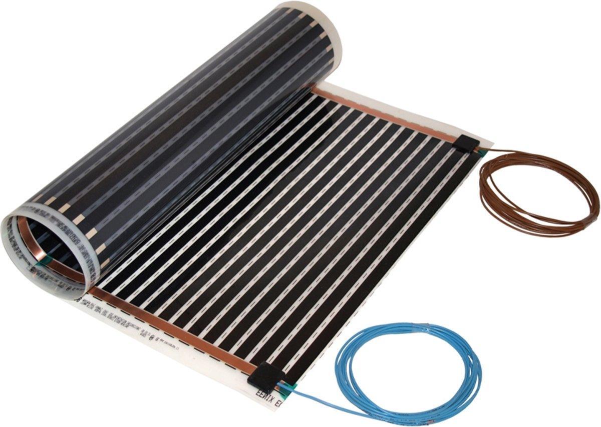 Vloerverwarming elektrisch voor parket- en laminaat, slechts 0,4mm dik. uitbreidingsmat 120 watt kopen