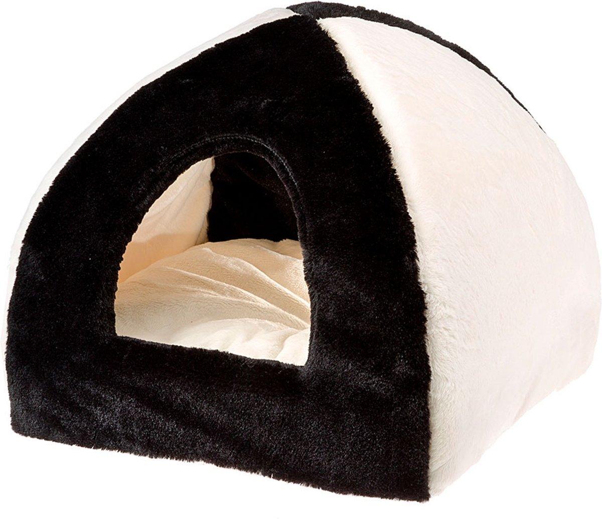 Ferplast - TIPI - Medium Soft - Zwart - 42 x 42 x h 36 cm