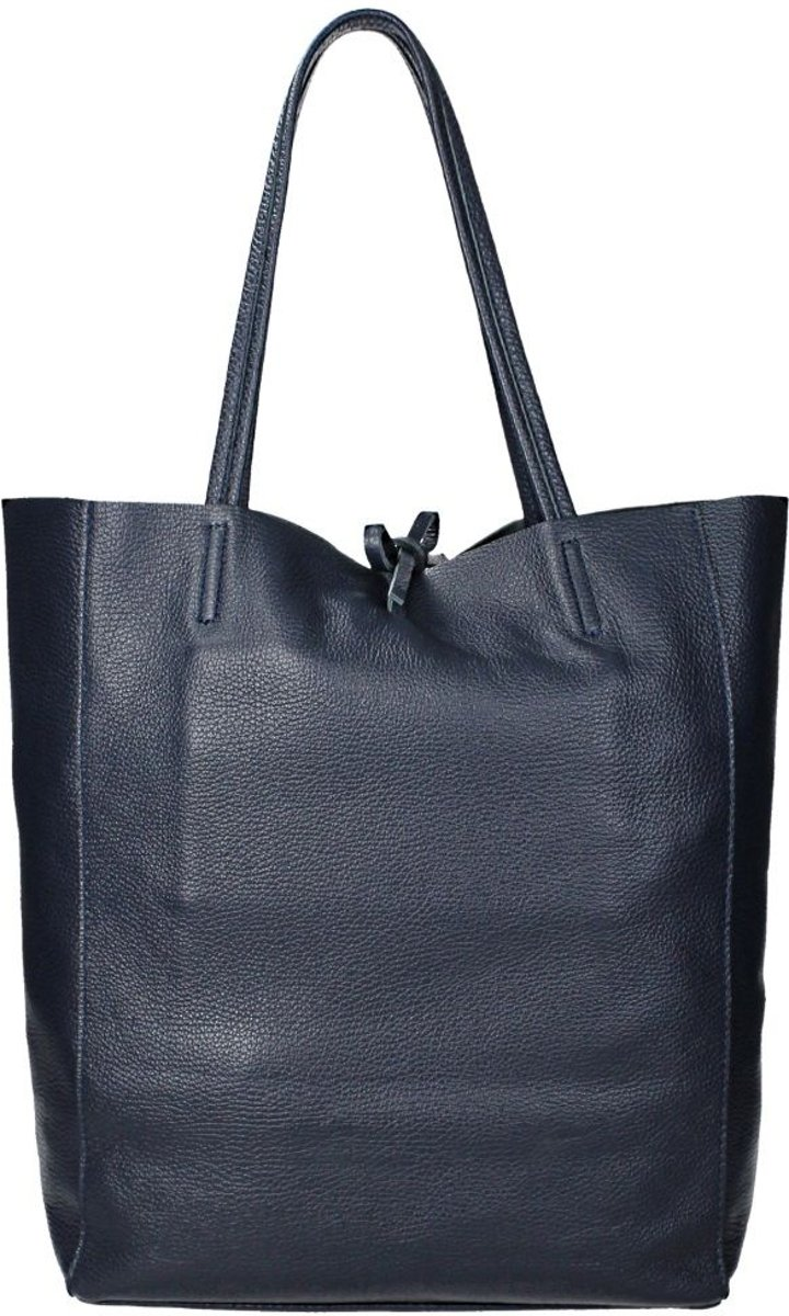 61cfbee856a bol.com | Duifhuizen Leather Collection shopper dark blue