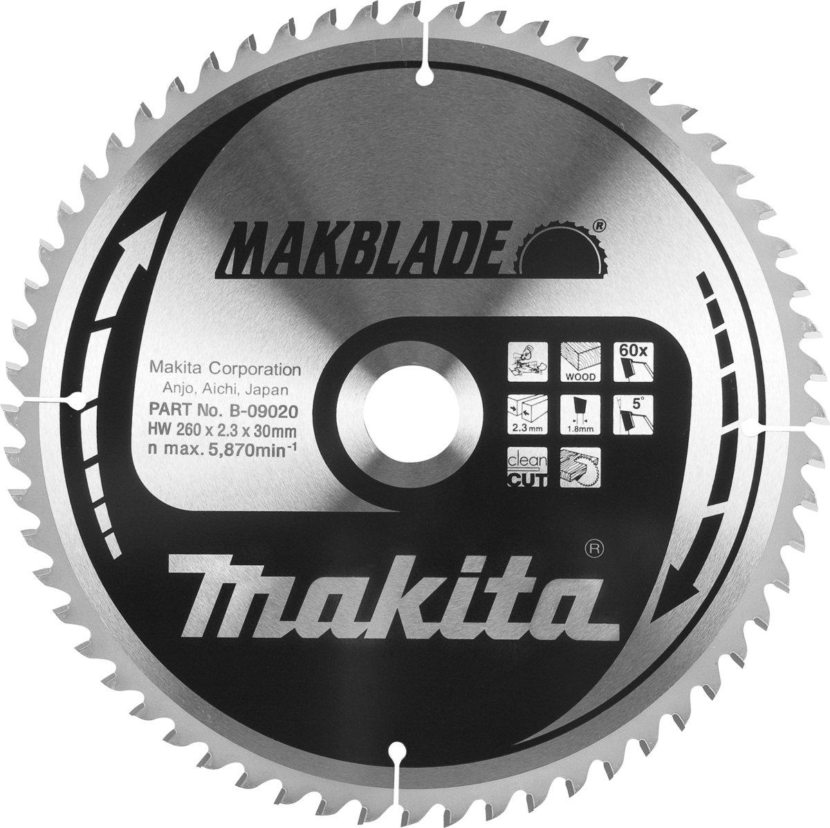 Makita B-09042 Zaagb hout 190x20x2,0 60T 5g