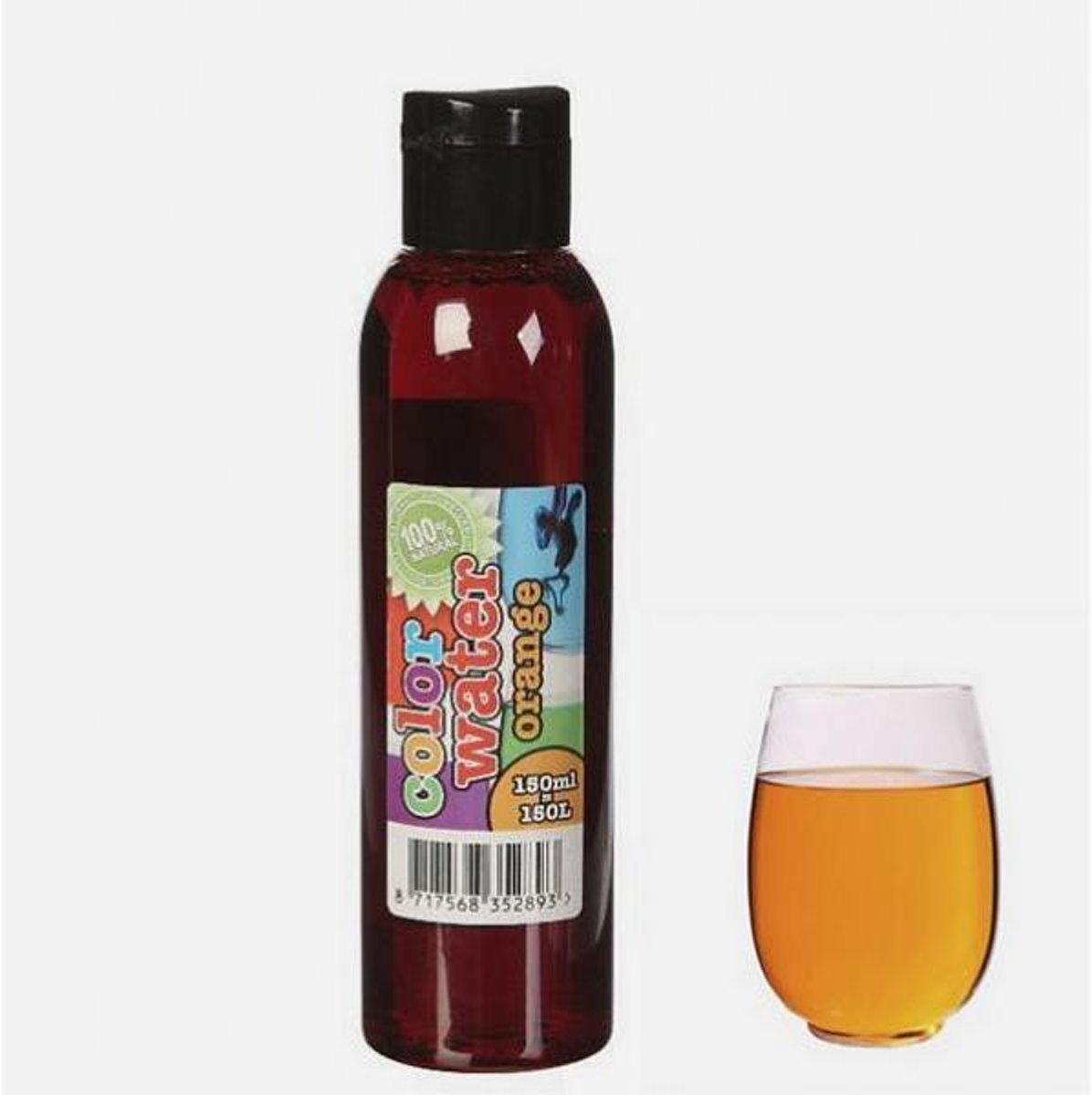 Kleurstof 150 ml - oranje water - set van 3 stuks kopen