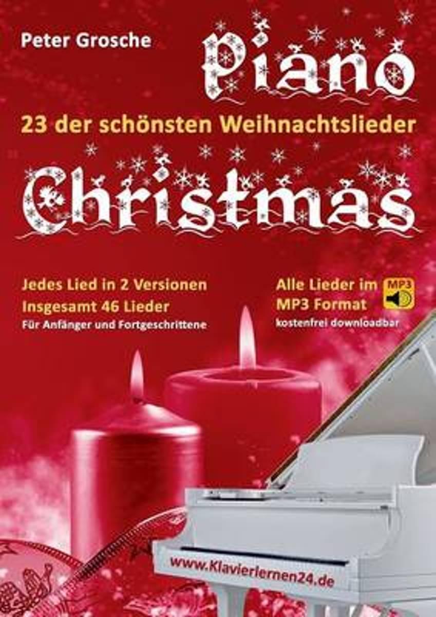 bol.com | Piano-Christmas - Weihnachtslieder Fur Das Klavierspielen ...