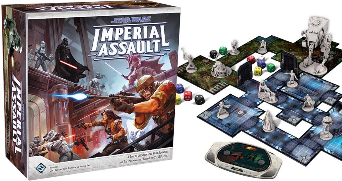 Star Wars Imperial Assault - Bordspel - Engelstalig