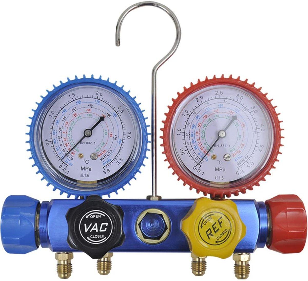 Waar moet je haak een vacuümmeter