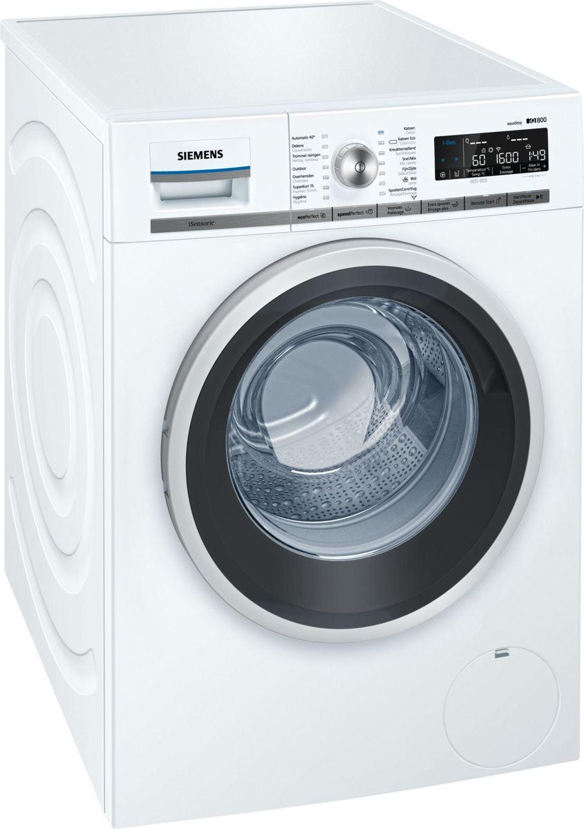 Siemens WMH6W642FG iQ700 - Wasmachine - iDos - HomeConnect