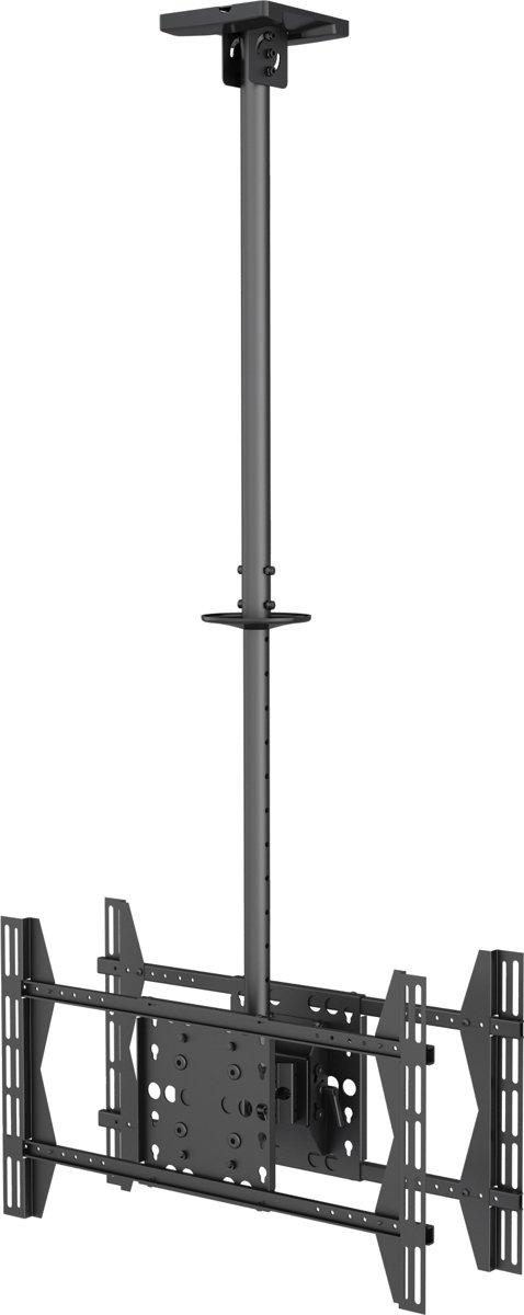 Equip 650370 flat panel plafond steun 165,1 cm (65'') Zwart kopen