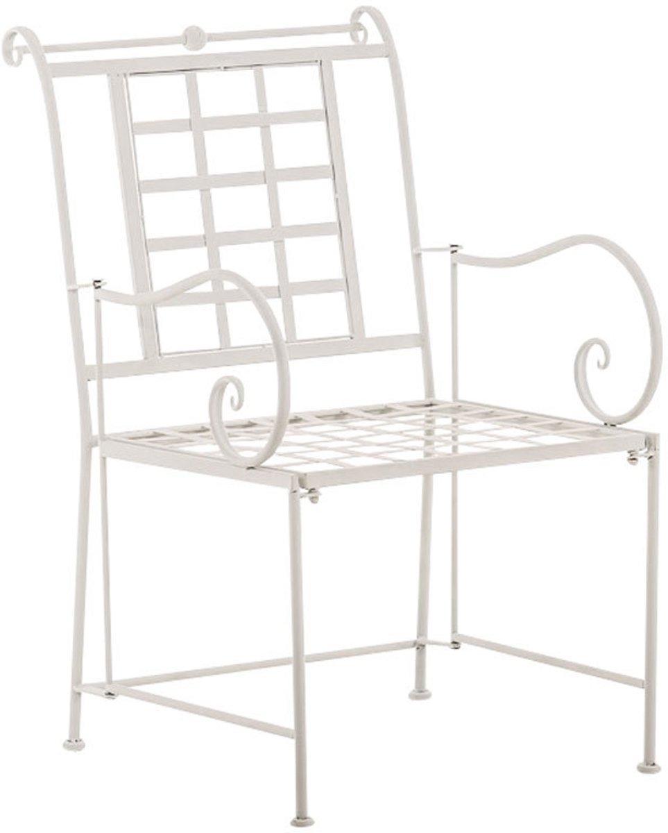 Clp Tuinstoel HELEN, bistrostoel, terrasstoel, balkonstoel, landhuis stijl, vintage, retro, country life stijl, antiek nostalgisch design, zithoogte 4