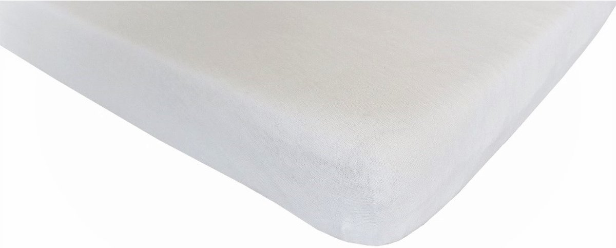 Hoeslaken katoen 70x140 cm wit