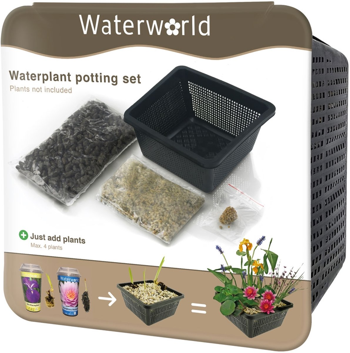 Waterworld® Aqua Set - Waterplanten Oppot Set