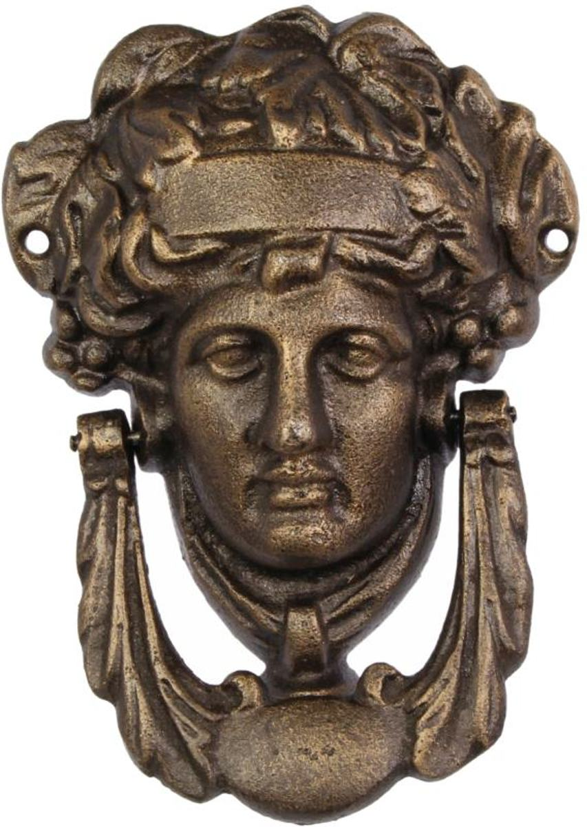 Gietijzeren deurklopper Pallas Athena kopen