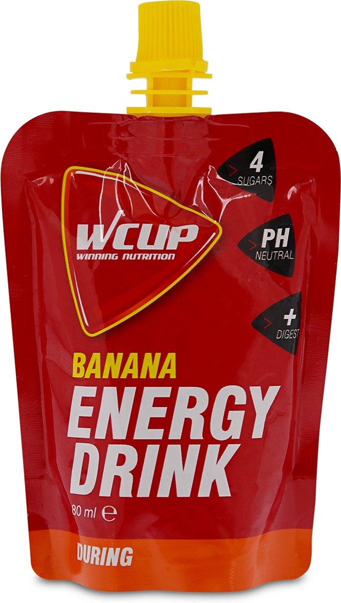 Wcup Energy Drink Banana 6 x 80ml kopen