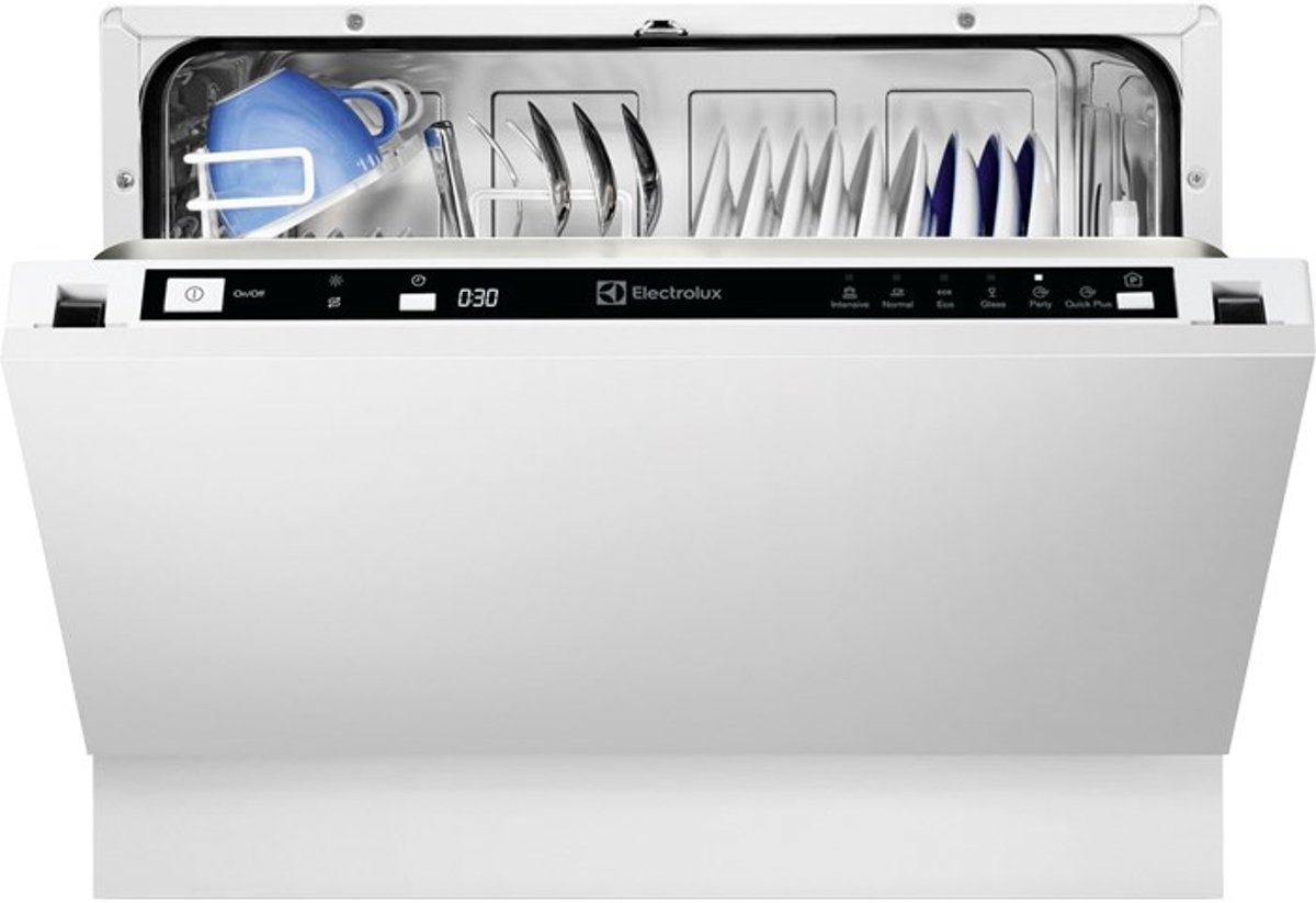 Electrolux ESL2400RO Volledig ingebouwd 6couverts A+ vaatwasser