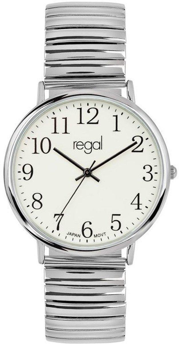 Regal - Regal horloge met stalen rekband kopen