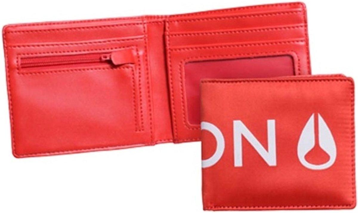 | Nixon Patchwork Bi fold Portemonnee Rood
