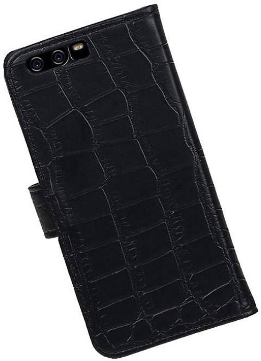 Crocodile Noir Couverture Du Livre Pour P10 De Type Huawei TtRnxOcUp
