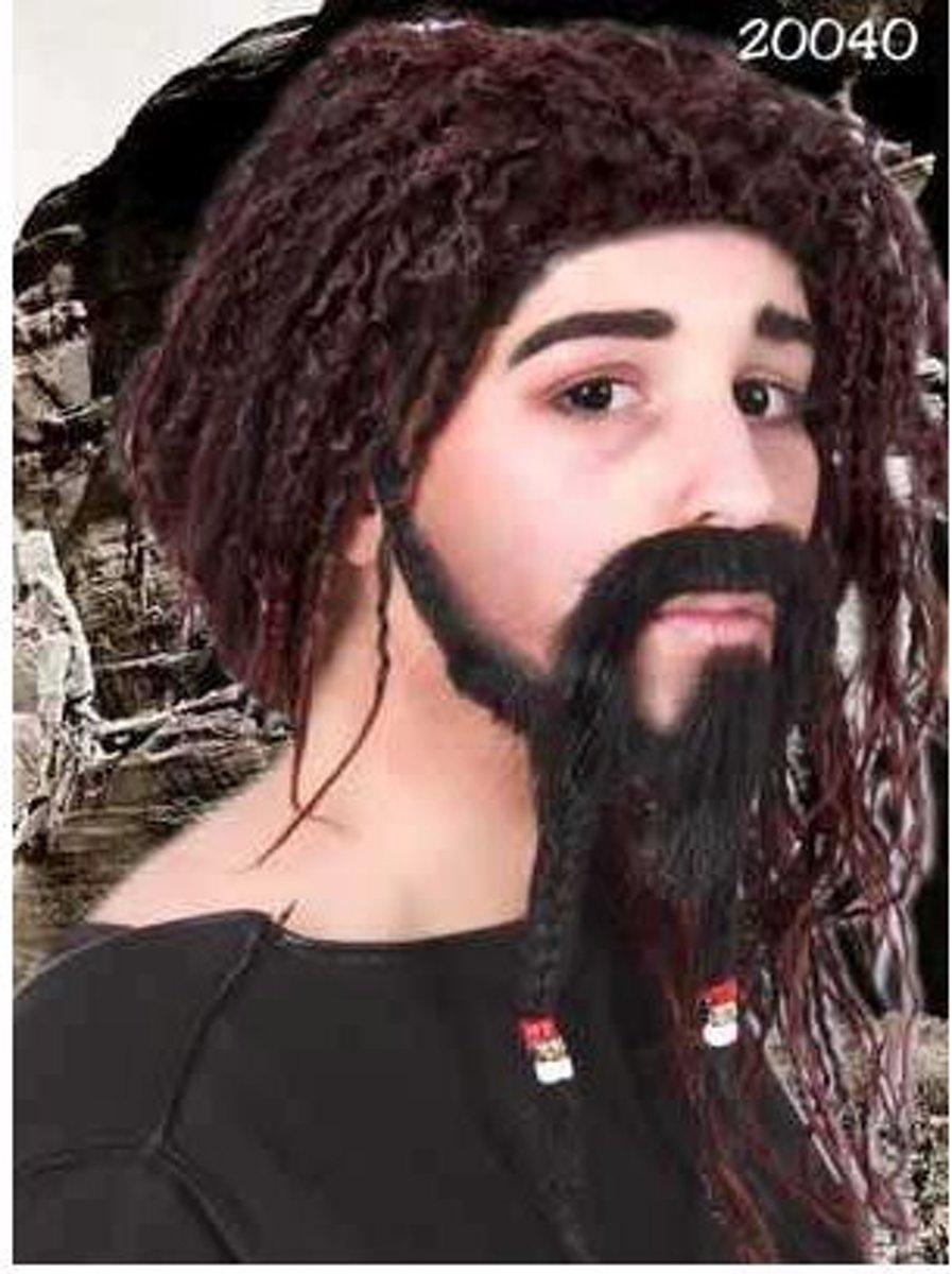 Snor, Sik En Wenkbrauwen Caribische Piraat