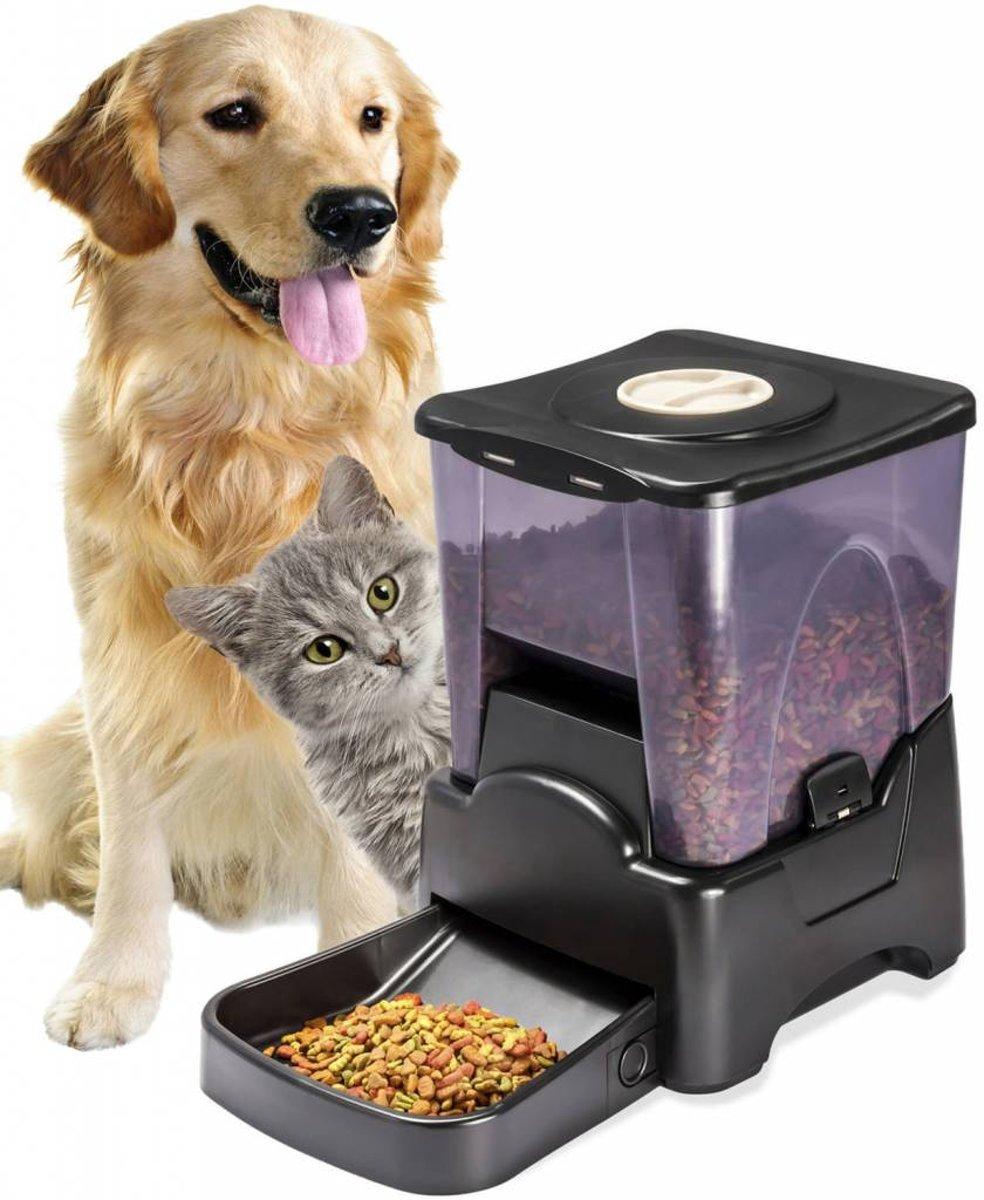 Katten Honden Dieren Automatisch Voerautomaat Voederautomaat kopen