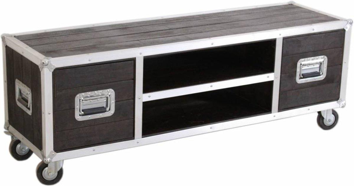 Kast Op Wielen : Bol.com vhcollection tv meubel op wielen darkboxes
