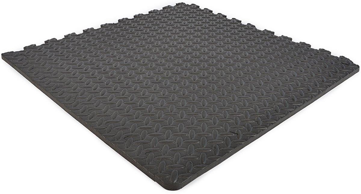 EVA FOAM tegels donkergrijs 62x62x1,2cm (set van 4 tegels + randen) kopen