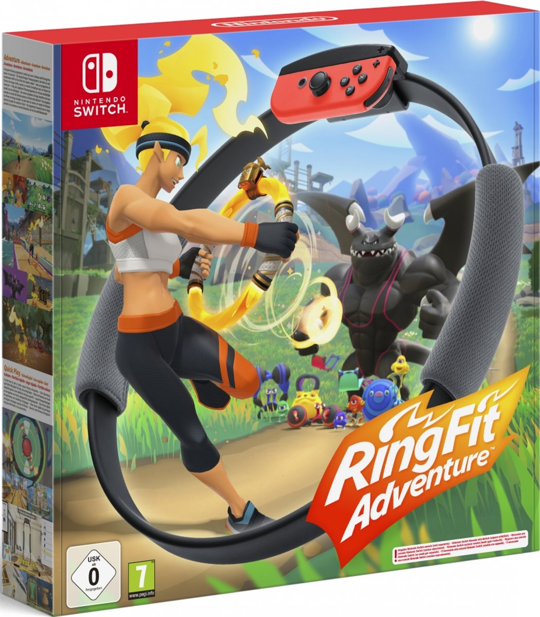Ring Fit Adventure - Nintendo Switch kopen
