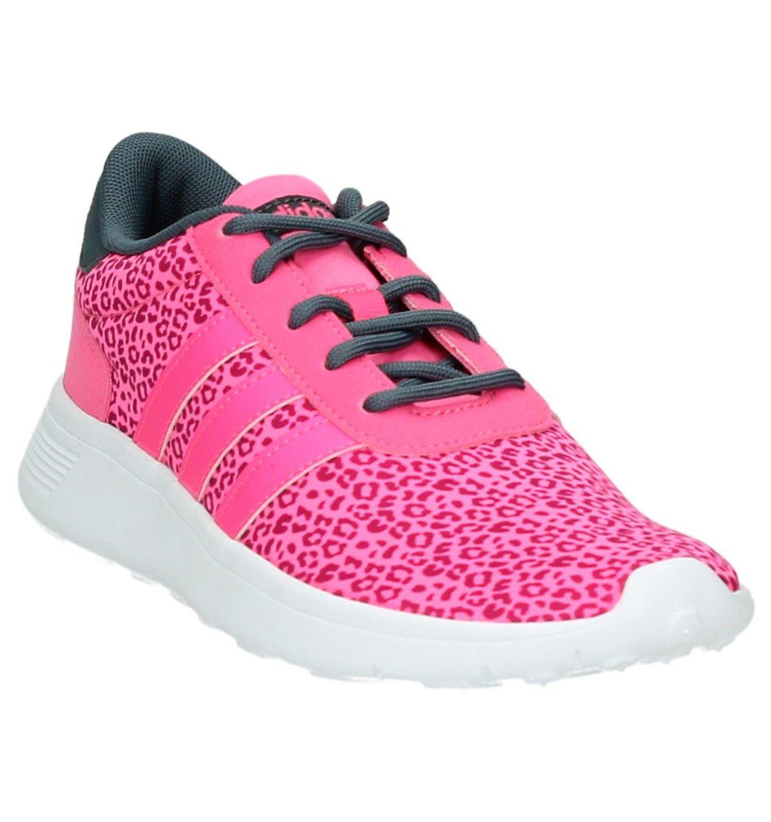 adidas Lite Racer fitnessschoenen meisjes zalm