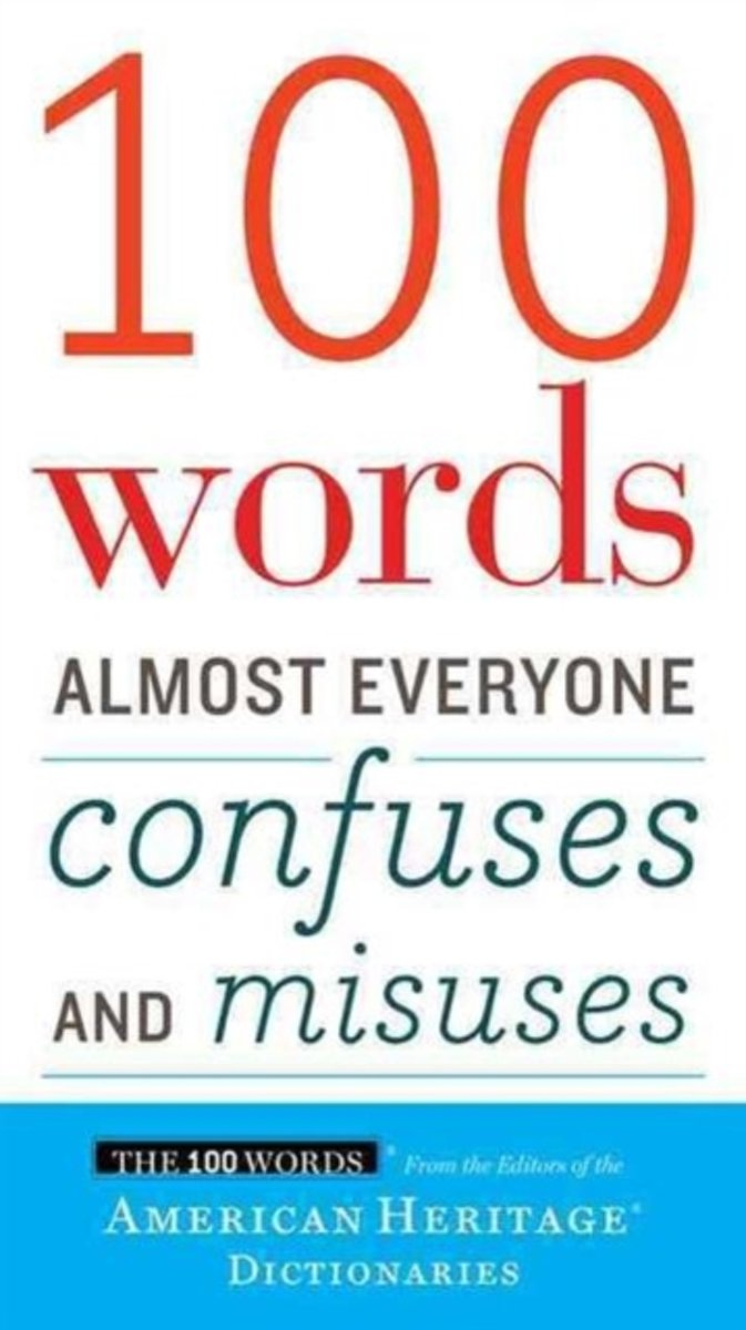 bol.com | 100 Words Almost Everyone Confuses and Misuses, American Heritage  Dictionaries |.