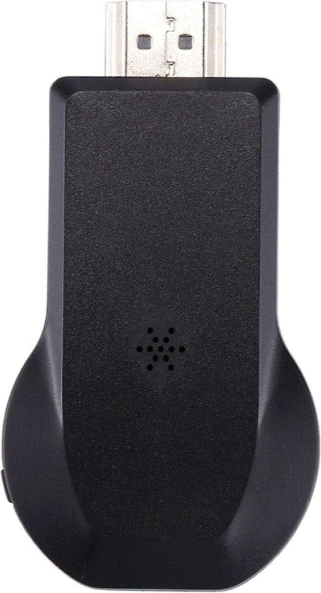 MiraScreen Display van de WiFi Dongle / Miracast Airplay  DLNA Display ontvanger Dongle draadloze Mirroring scherm apparaat met 2 in 1 USB-kabel (zwart) kopen