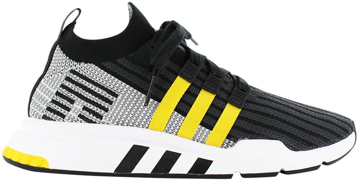 adidas Originals EQT Equipment Support MID ADV PK Primeknit Boost Sneakers Sportschoenen Schoenen Zwart CQ2999 Maat EU 42 UK 8