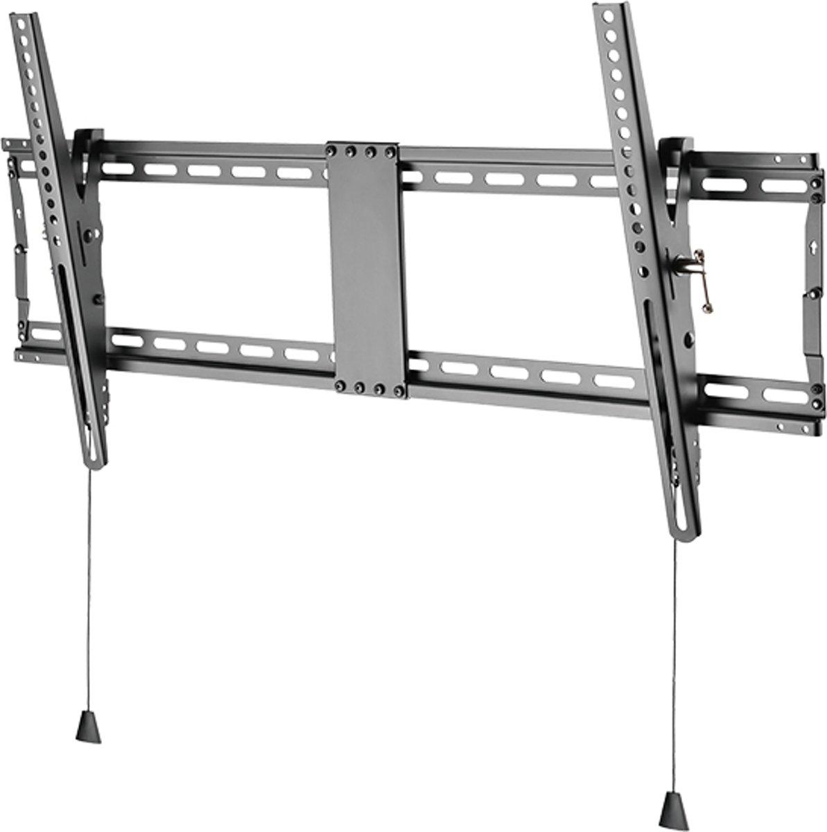 DELTACO ARM-467 Universele TV Wandbeugel, Anti-diefstal, Heavy-duty, Kantelbaar, Geschikt voor TV's van 43 t/m 90 inch kopen