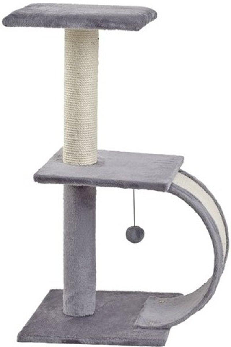 Krabpaal cerry grijs 38x38x75cm