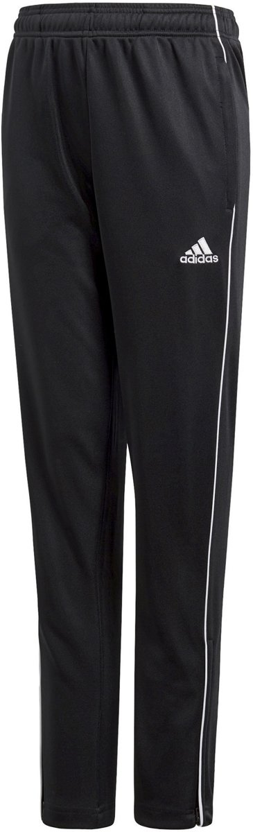 ADIDAS Core 18 Trainingsbroek Junior Zwart Wit Maat 164