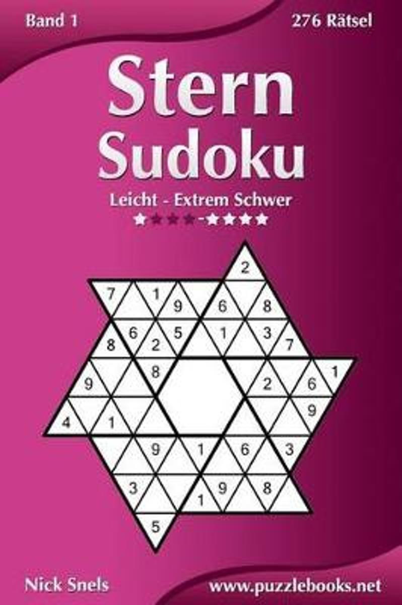 bol.com | Stern Sudoku - Leicht Bis Extrem Schwer - Band 1 - 276 ...