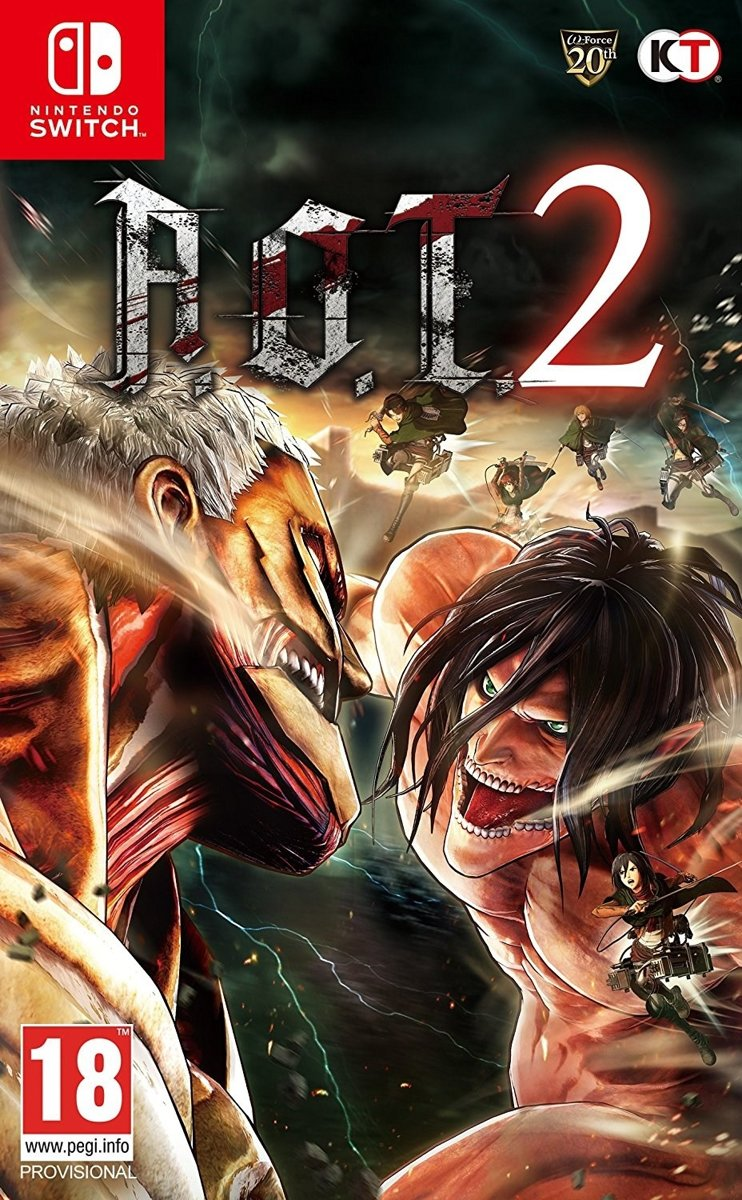Attack on Titan 2 Switch