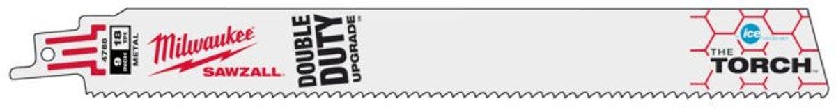 Milwaukee reciprozaagblad Torch Ice Edge 230mm 18TPI  (5st)