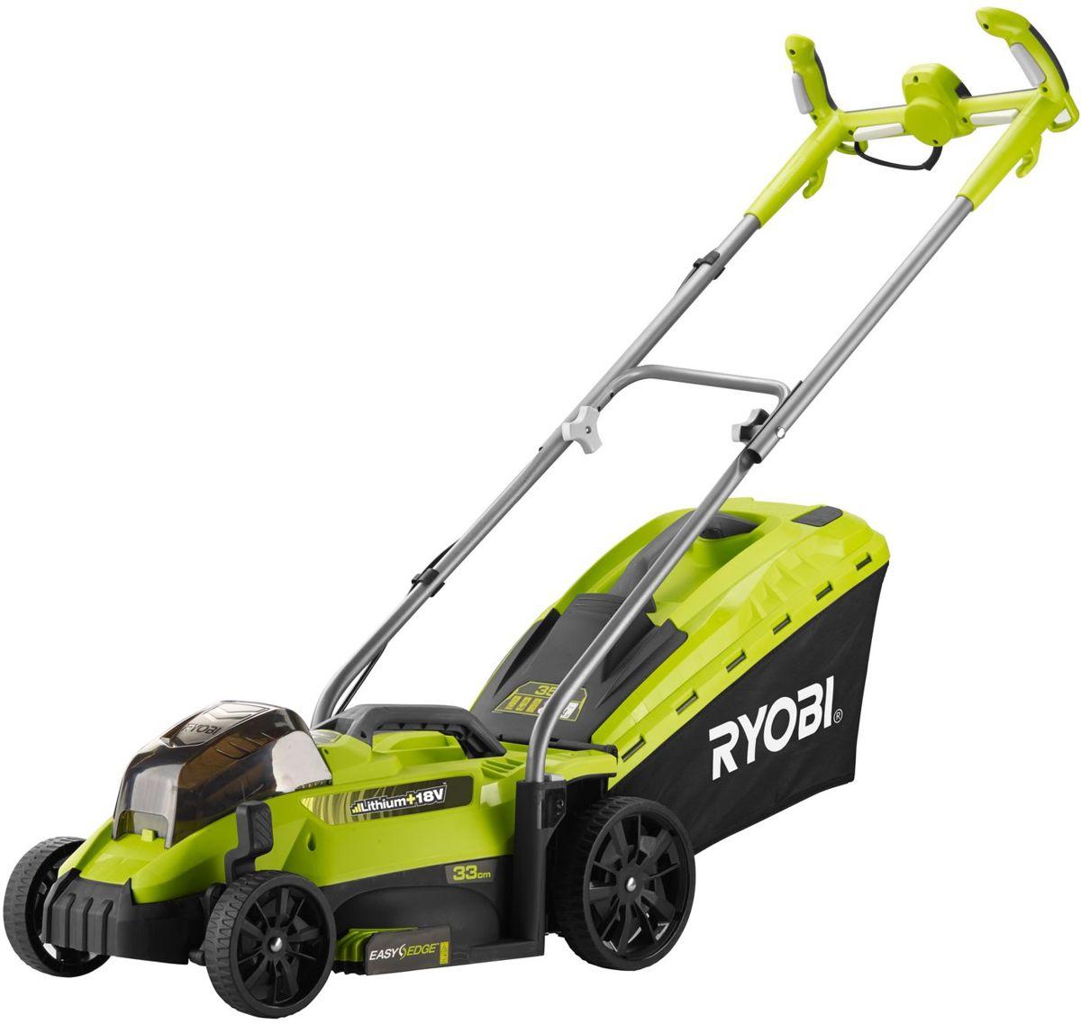 RYOBI ONE + 18V accu gazonmaaier grasmaaier 33 cm zonder accu's en lader