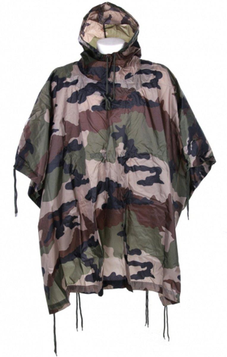 Luxe camouflage regenponcho kopen
