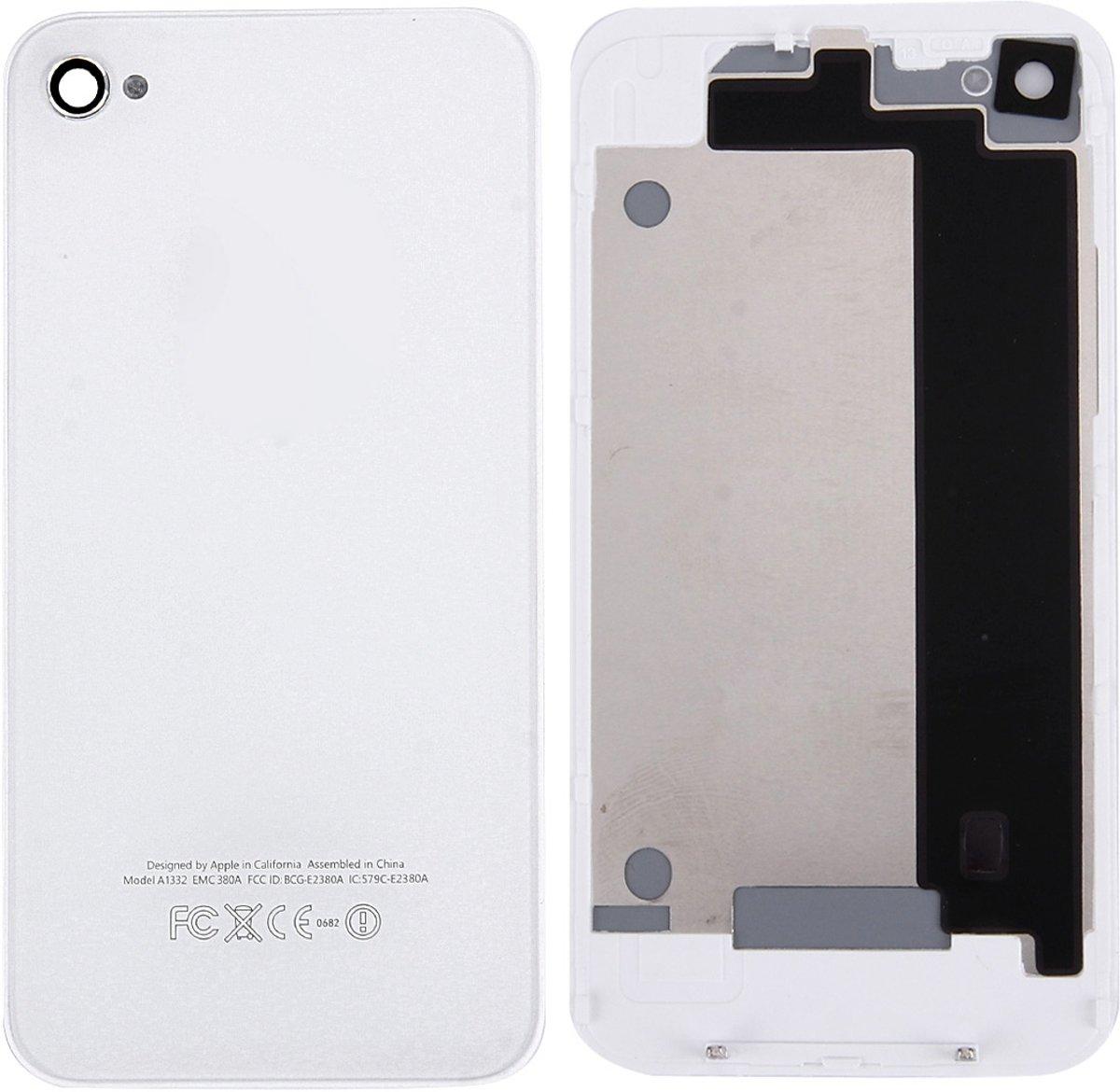 Glas Achterkant voor iPhone 4 (wit) kopen