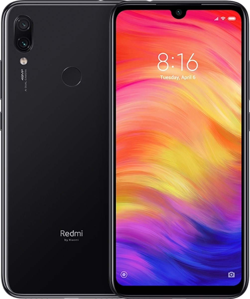 Xiaomi Redmi Note 7 16 cm (6.3'') 3 GB 32 GB Hybride Dual SIM 4G Zwart 4000 mAh kopen