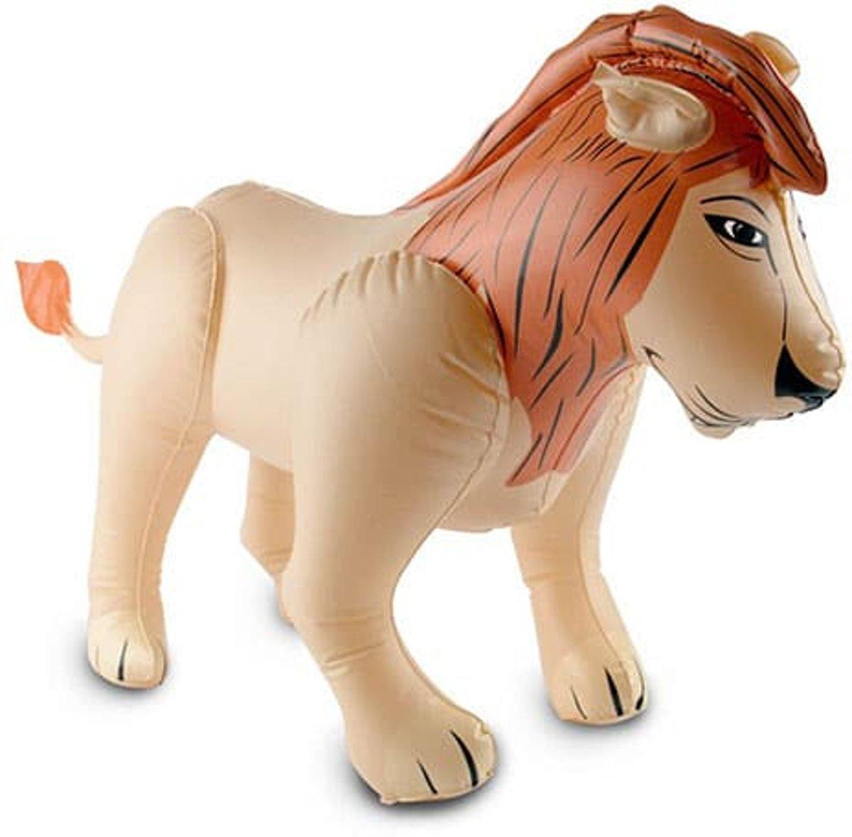 Opblaas leeuw 80 cm kopen