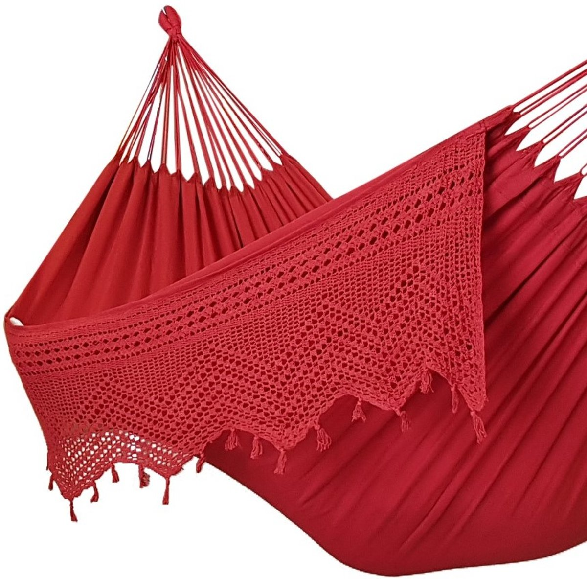 Fair Trade Hangmat XL Rood