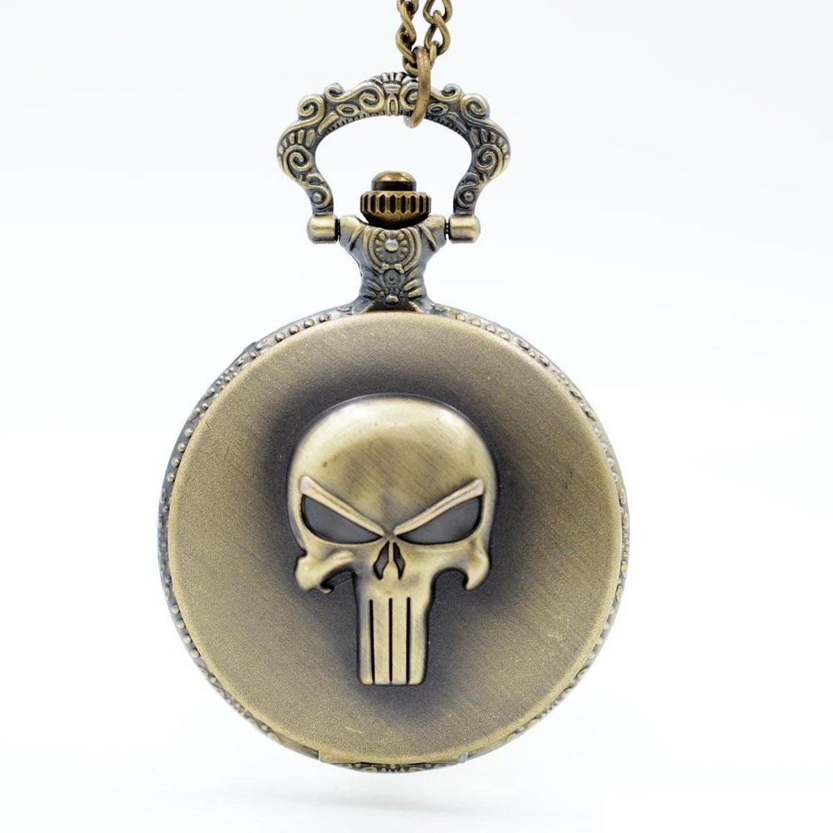 Zakhorloge - Skull - Brons # 56 kopen