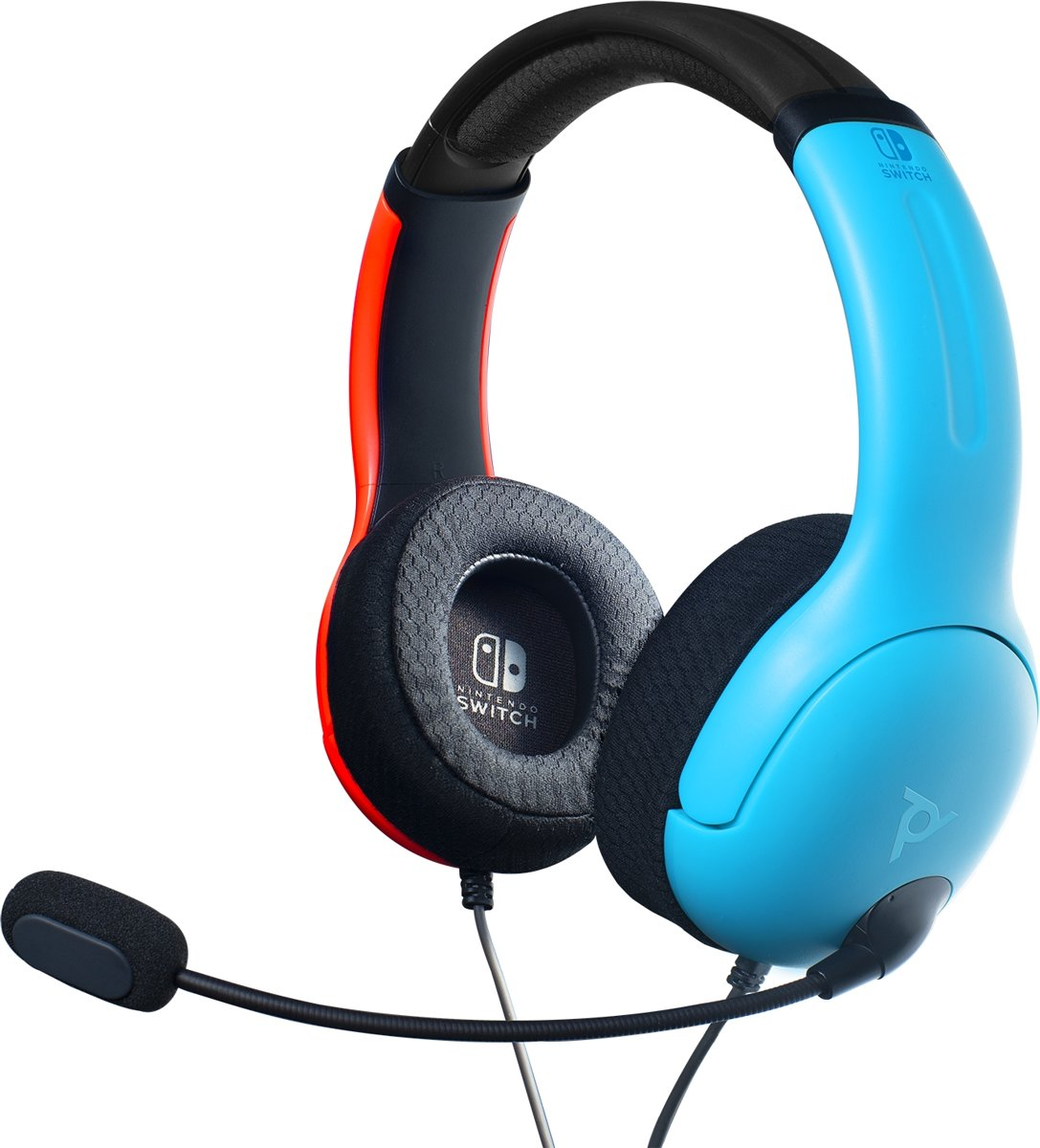 Afterglow LVL40 Stereo Gaming Headset - Nintendo Switch - Blauw Rood kopen