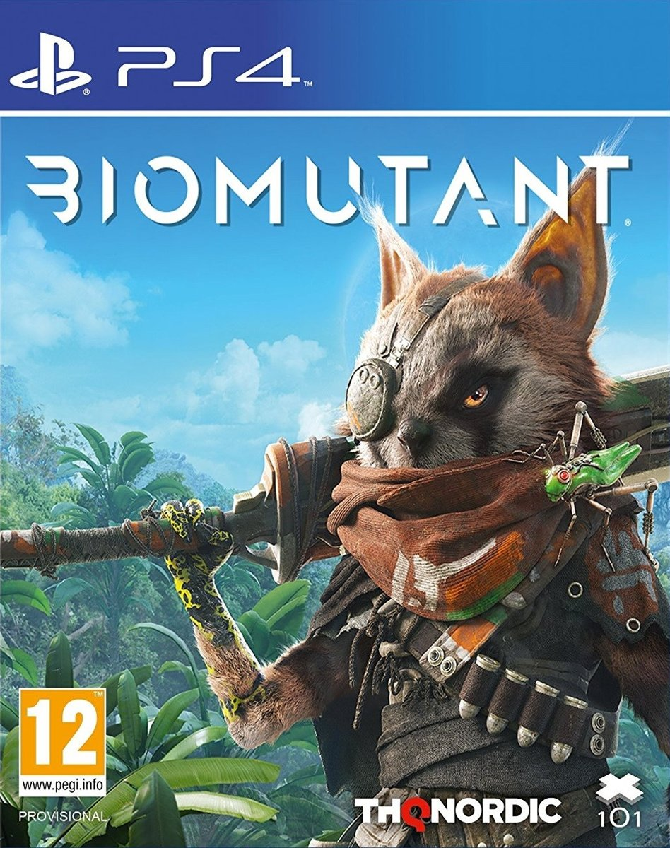 Biomutant PlayStation 4