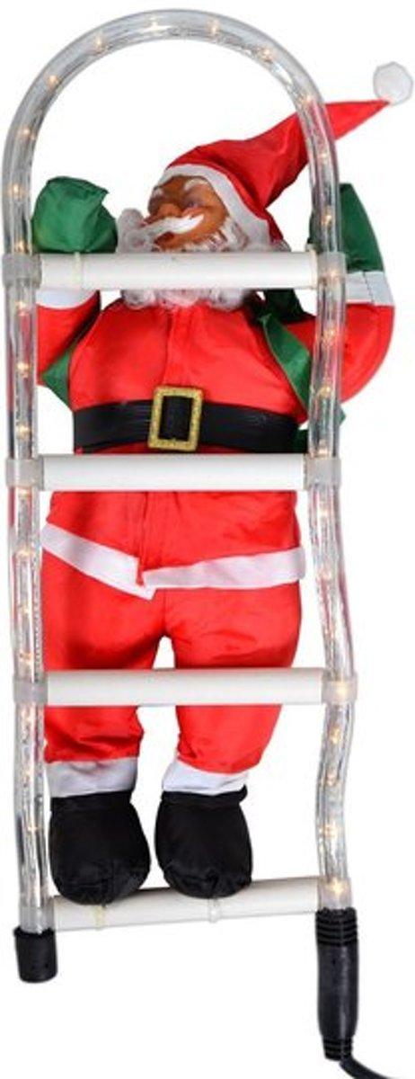 Trend24 - Kerstman op ladder 50 cm kopen