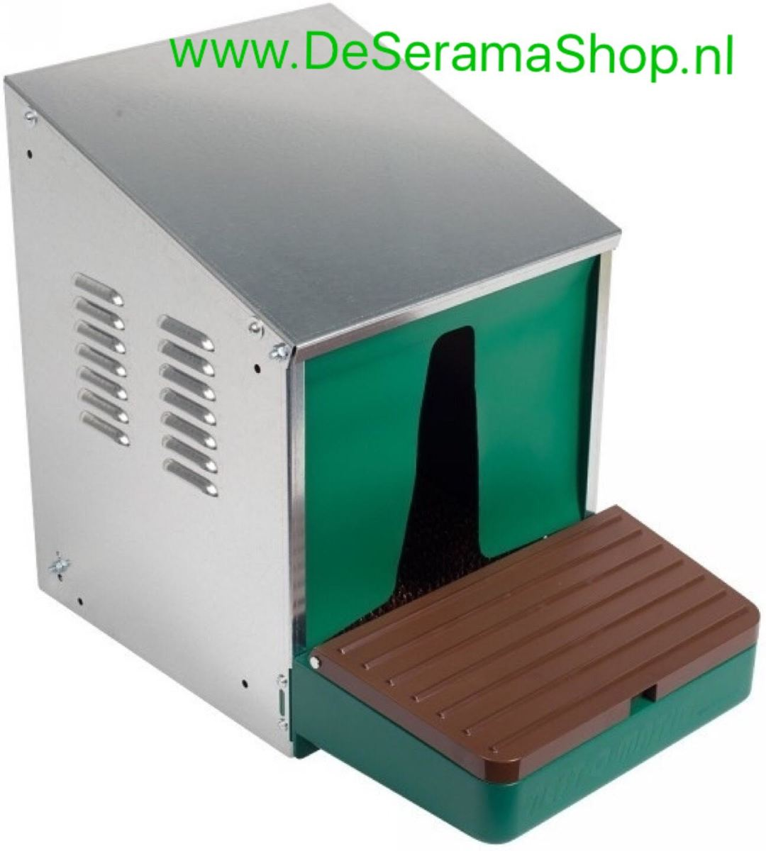 LegOMatic Legnest - Aluminium - Groen