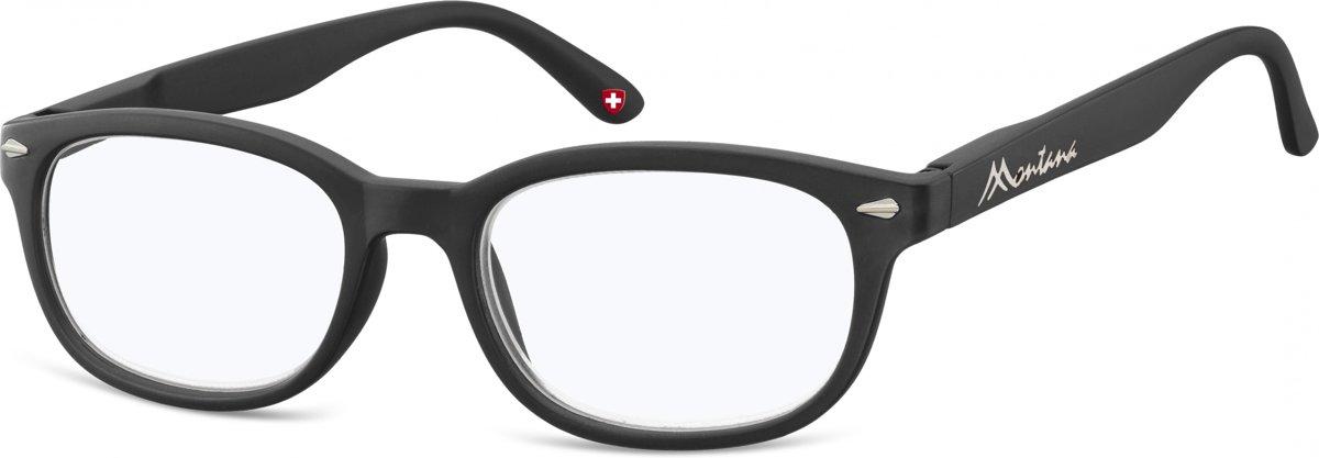 Montana Leesbril Blauwlichtfilter Zwart Sterkte +2,50 kopen