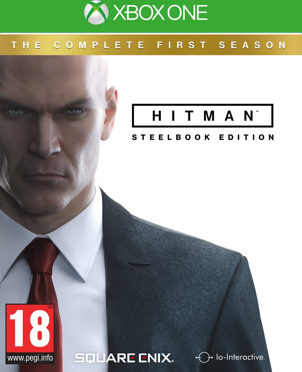 Hitman Complete 1st Season Steelbook Edition Xbox One