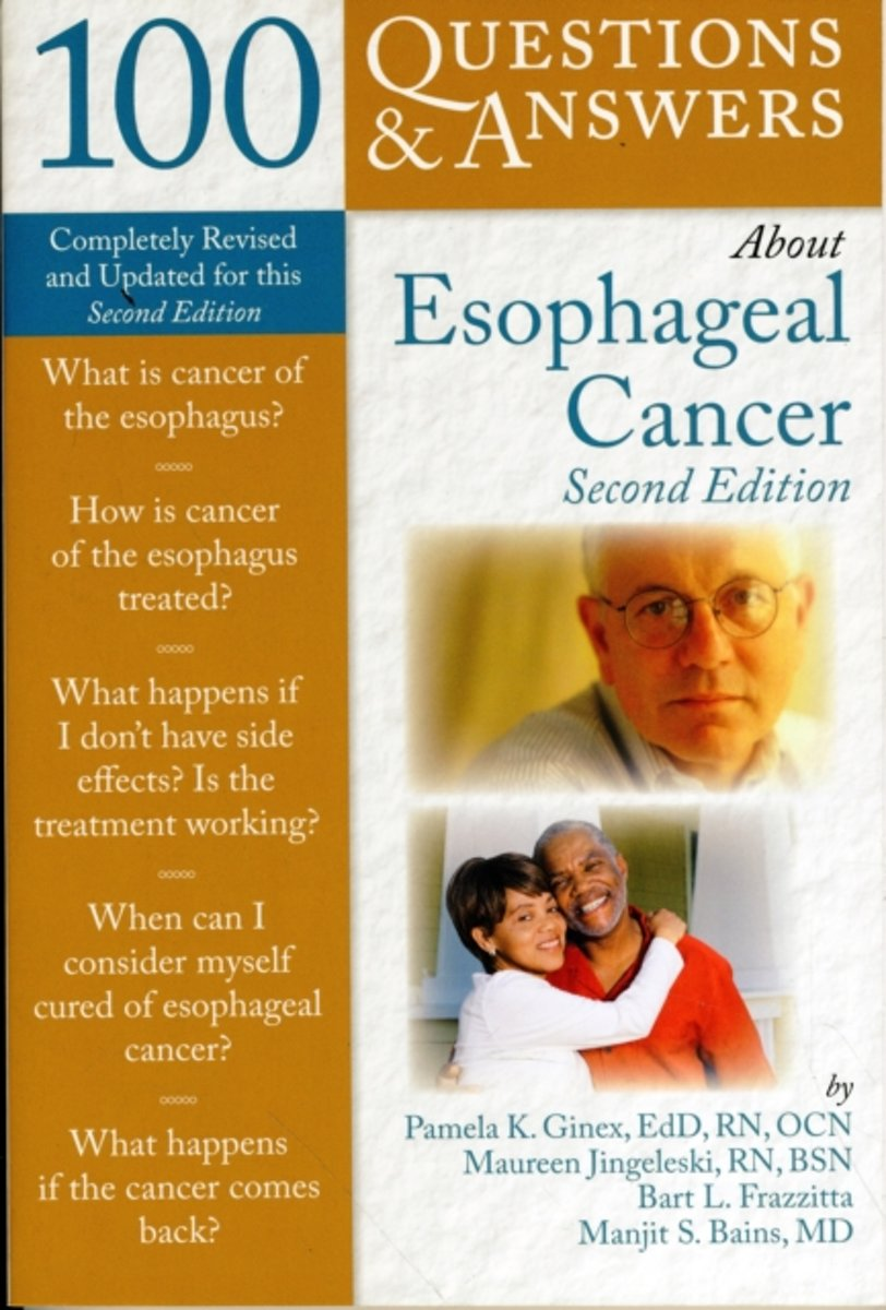 bol.com | 100 Questions & Answers About Esophageal Cancer, Pamela K. Ginex  | 9780763760526 | Boeken