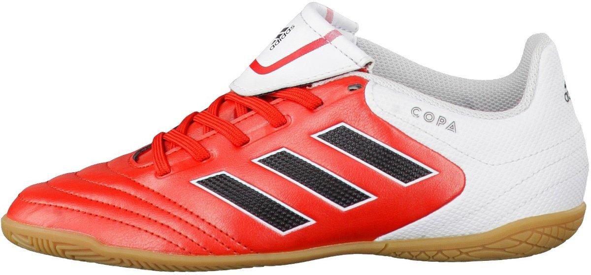 Hall Chaussures De Football Adidas Pour Les Enfants - Noir (ftwr De Base Noir / Blanc / Noir Coeur) Taille: 35.5 La7oS