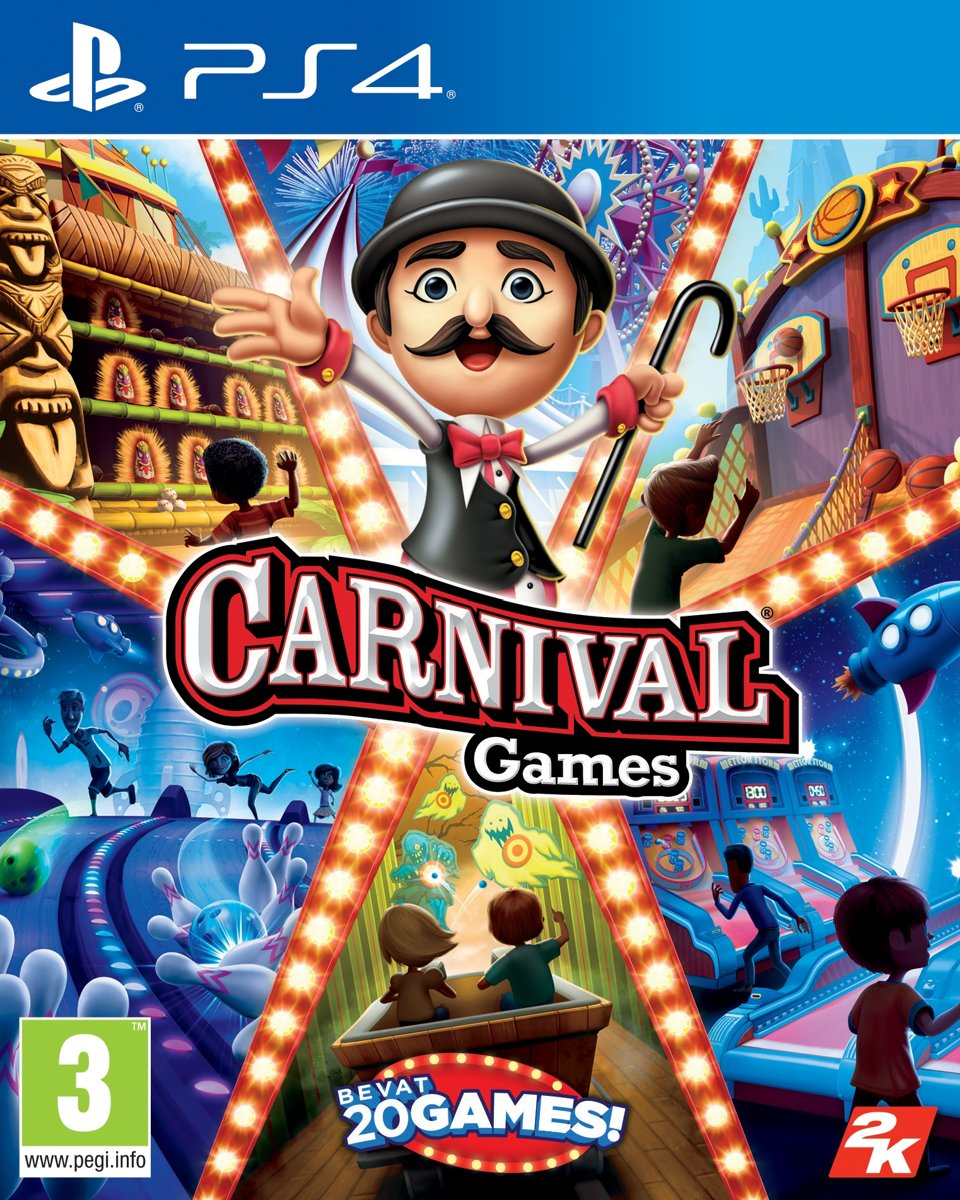 Carnival Games PlayStation 4